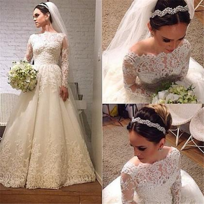 Wedding Dress,Wedding Dresses,Long ..