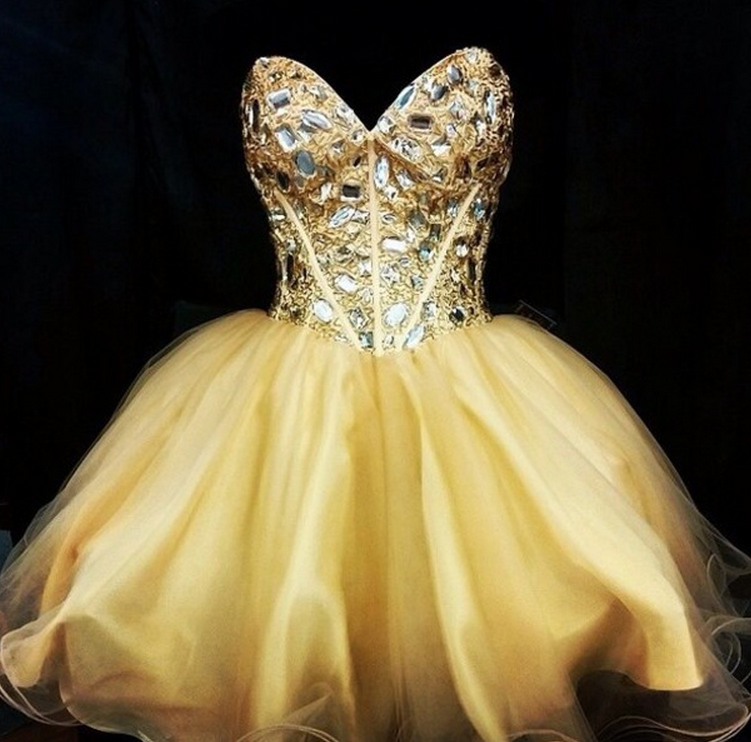 Cute Homecoming Dress,Tulle Homecoming Dresses,Prom Dress