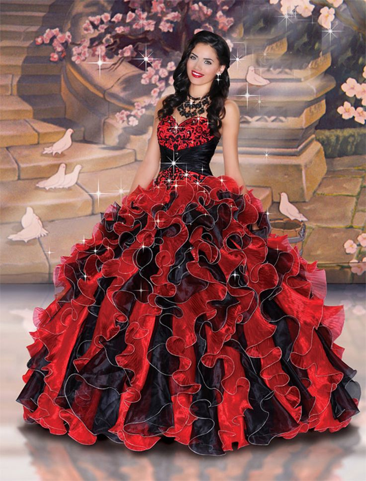 Red Masquerade Ball Dresses