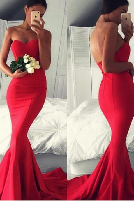 Mermaid Style Evening Dresses,Off Shoulder Evening Party Dress,Simple Party Gowns