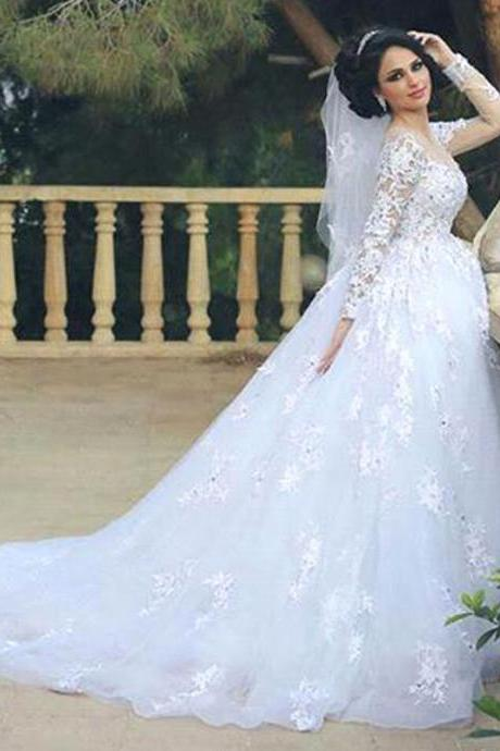 Muslim Wedding Dress Bridal Gowns