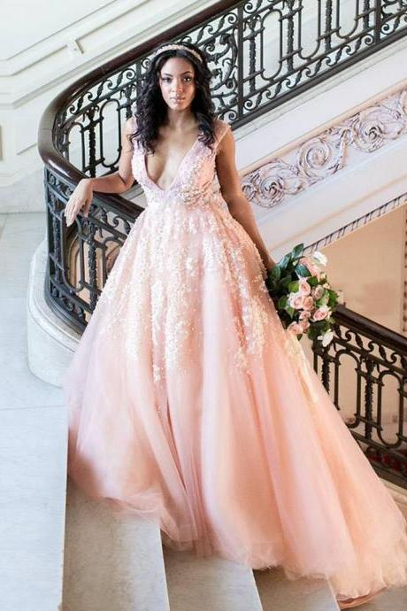Blush Pink Wedding Dresses on Luulla