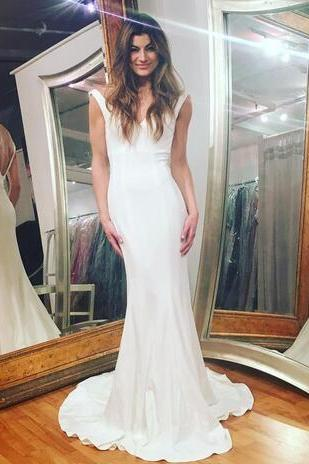 Wedding Dress,Wedding Dresses,Simple Wedding Dresses,Beach Wedding Dresses,V-Neck Wedding Dresses,Mermaid Wedding Dresses,Prom Dresses,Formal Dresses