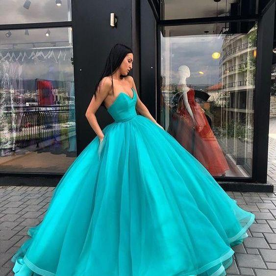 Prom Dresses, ball gown Prom Dresses,fashion cheap long Prom Dresses